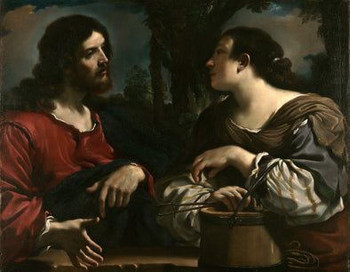 Guercino - Christ and the Woman of Samaria