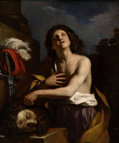 Guercino - David with the Head of Goliath