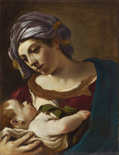 Guercino - Madonna and Child