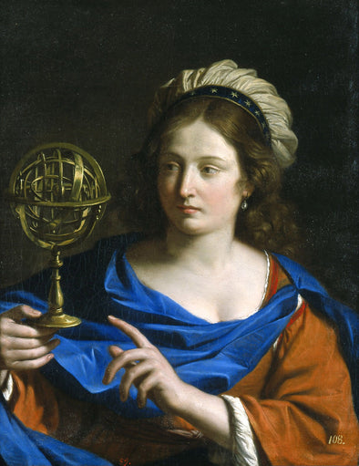 Guercino - Personification of Astrology