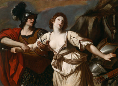 Guercino - Rinaldo Restraining Armida from Wounding Herself with an Arrow