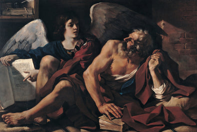 Guercino - Saint Matthew and the Angel