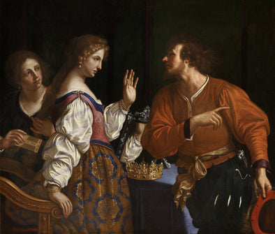 Guercino - Semiramis Receiving Word of the Revolt of Babylon