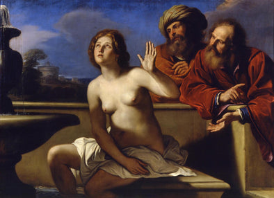 Guercino - Susanna and the Elders