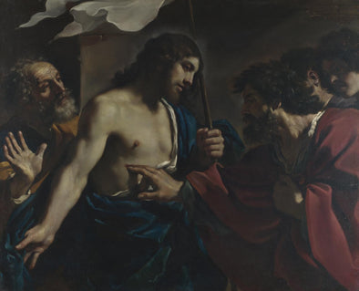 Guercino - The Incredulity of Saint Thomas