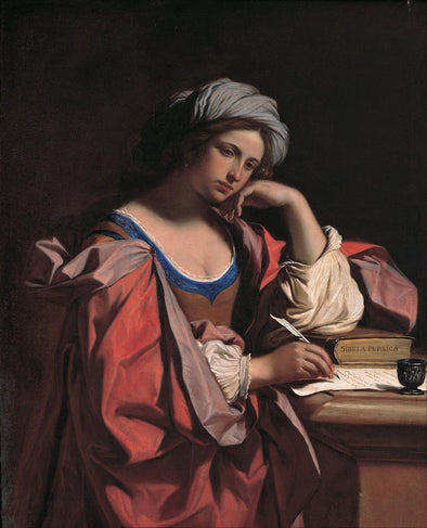 Guercino - The Persian Sibyl