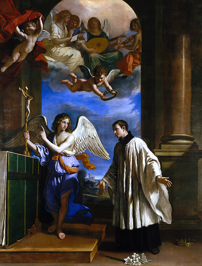 Guercino - The Vocation of Saint Aloysius Gonzaga
