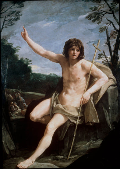 Guido Reni - Saint John the Baptist in the Wilderness