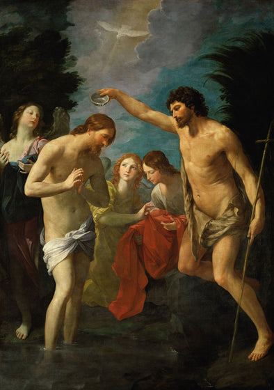 Guido Reni - The Baptism of Christ
