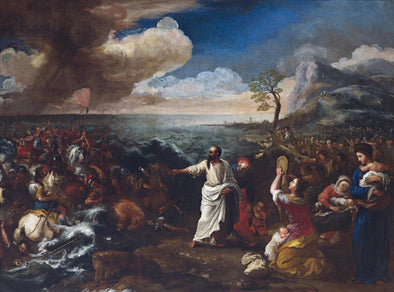 Guillaume Courtois - Crossing the Red Sea