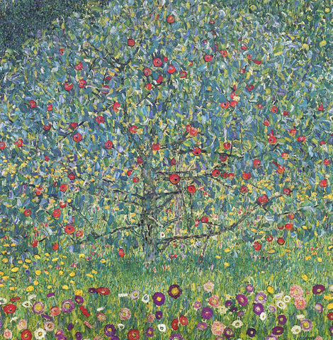 Gustav Klimt - Apple Tree