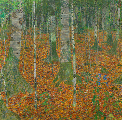 Gustav Klimt - Birch Forest