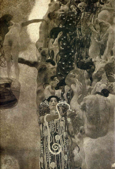 Gustav Klimt - Faculty Paintings