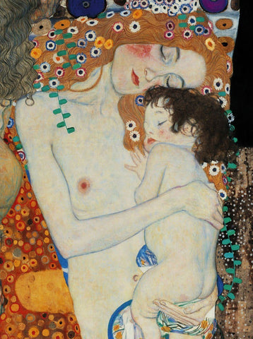 Gustav Klimt - Mother and Child