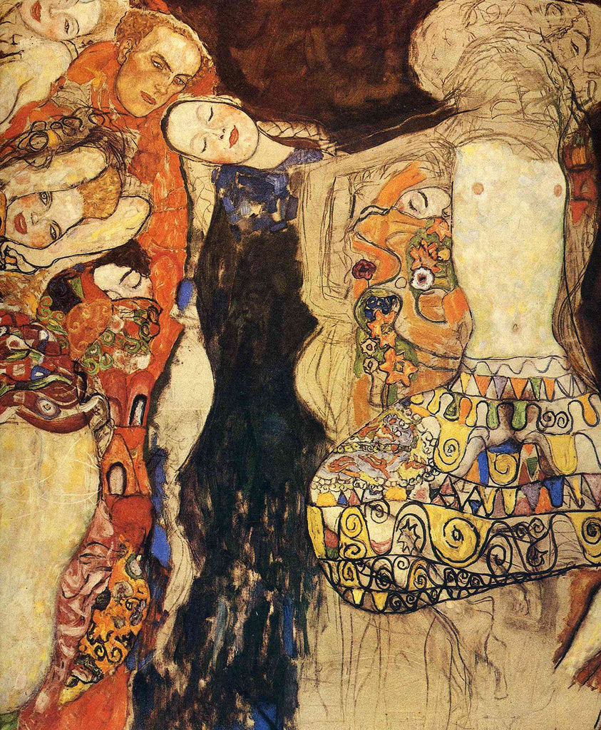 Gustav Klimt - The Bride Unfinished