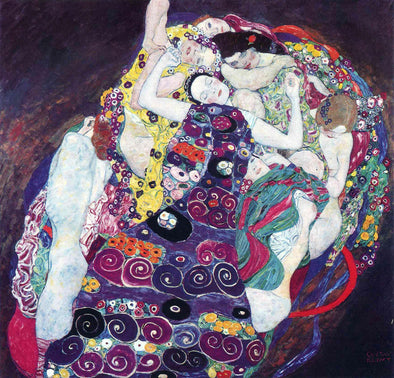 Gustav Klimt - The Virgin