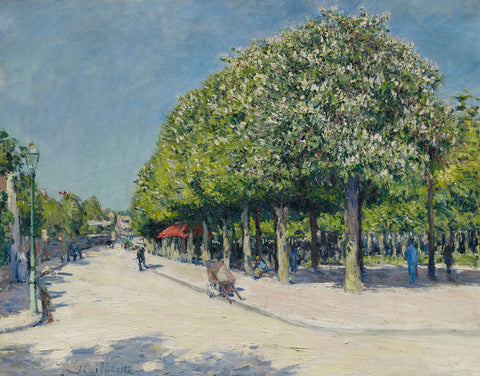 Gustave Caillebotte - Argenteuil Fete Foraine