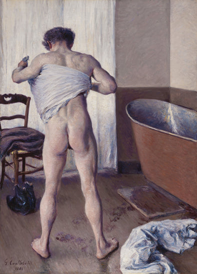 Gustave Caillebotte - Homme au bain