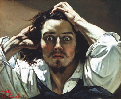 Gustave Courbet - Selfportrait (The Desperate Man)