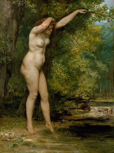 Gustave Courbet - The Young Bather