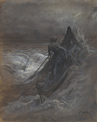 Gustave Doré - After the Shipwreck