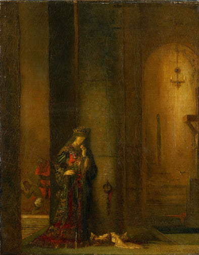 Gustave Moreau - Salome at the Prison