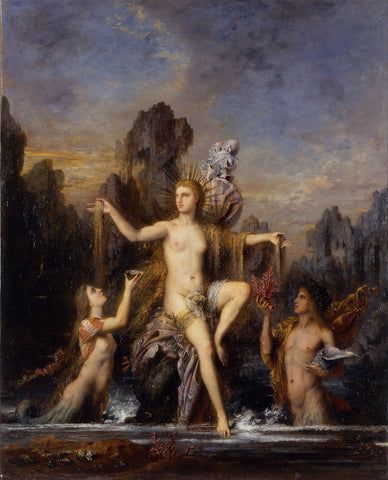 Gustave Moreau - Venus Rising from the Sea