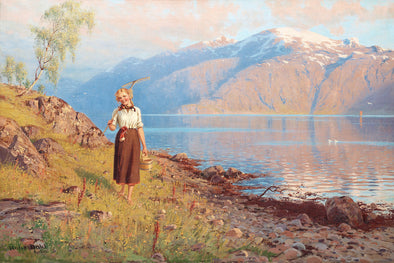 Hans Dahl - At fjord