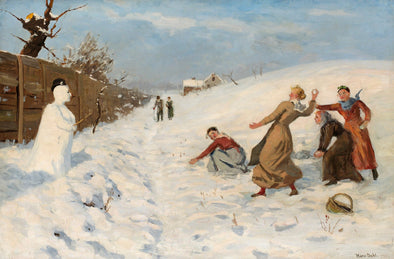 Hans Dahl - Winter Game