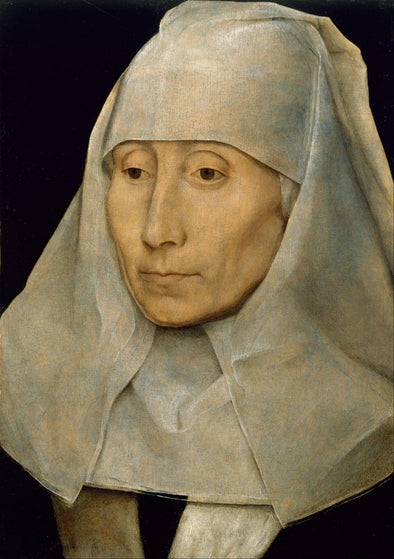 Hans Memling - Portrait of an Old Woman