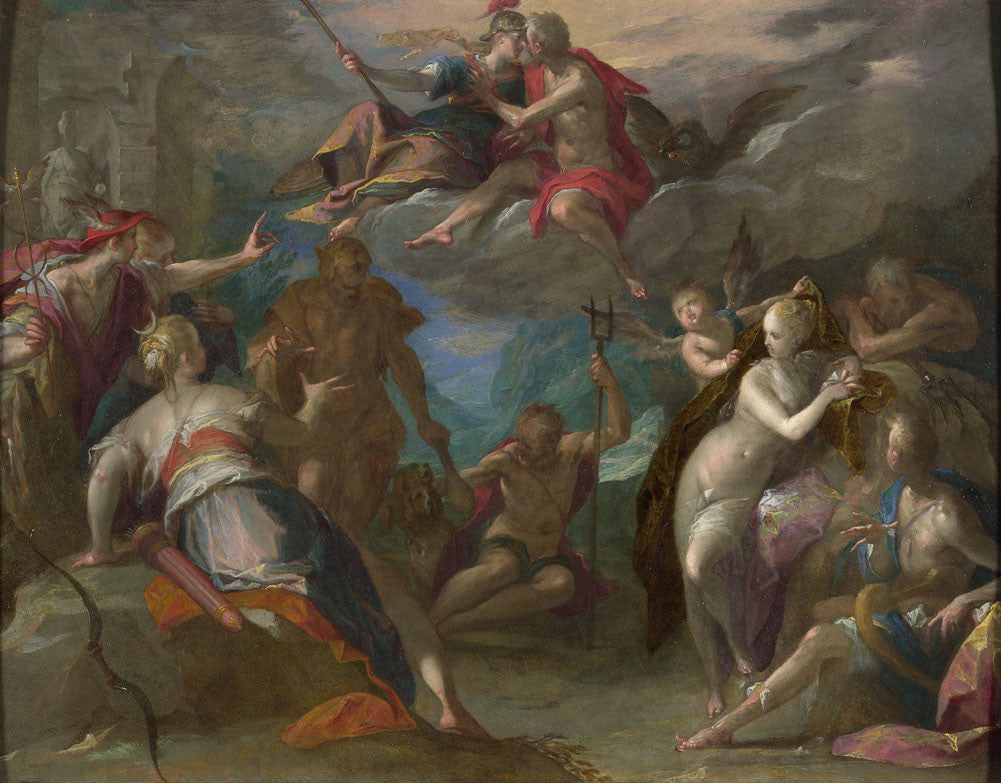Hans Von Aachen - The Amazement of the Gods