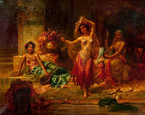 Hans Zatzka - Harem Entertainers