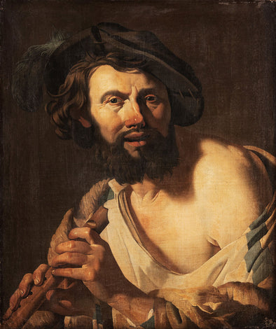 Hendrick Terbrugghen - Man with a Flute
