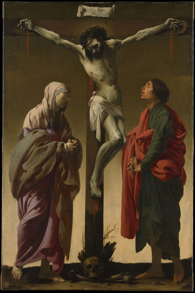 Hendrick Terbrugghen - The Crucifixion with the Virgin and Saint John