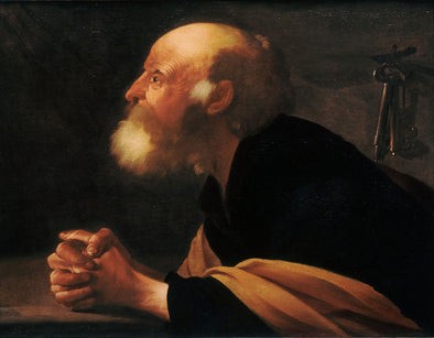 Hendrick Terbrugghen - The Repentant Peter