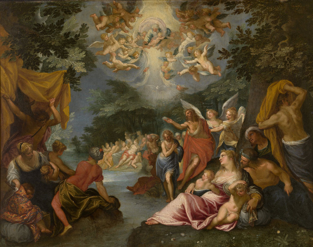 Hendrik de Clerck - Baptism of Christ