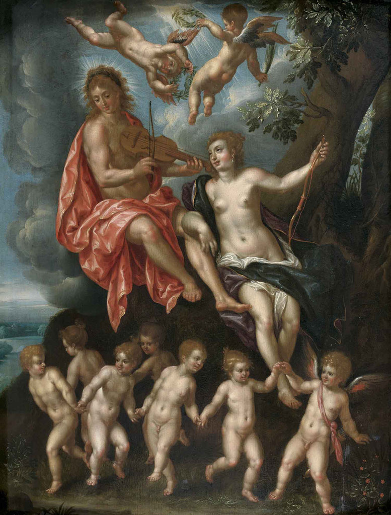 Hendrik de Clerck - Diana and Apollo