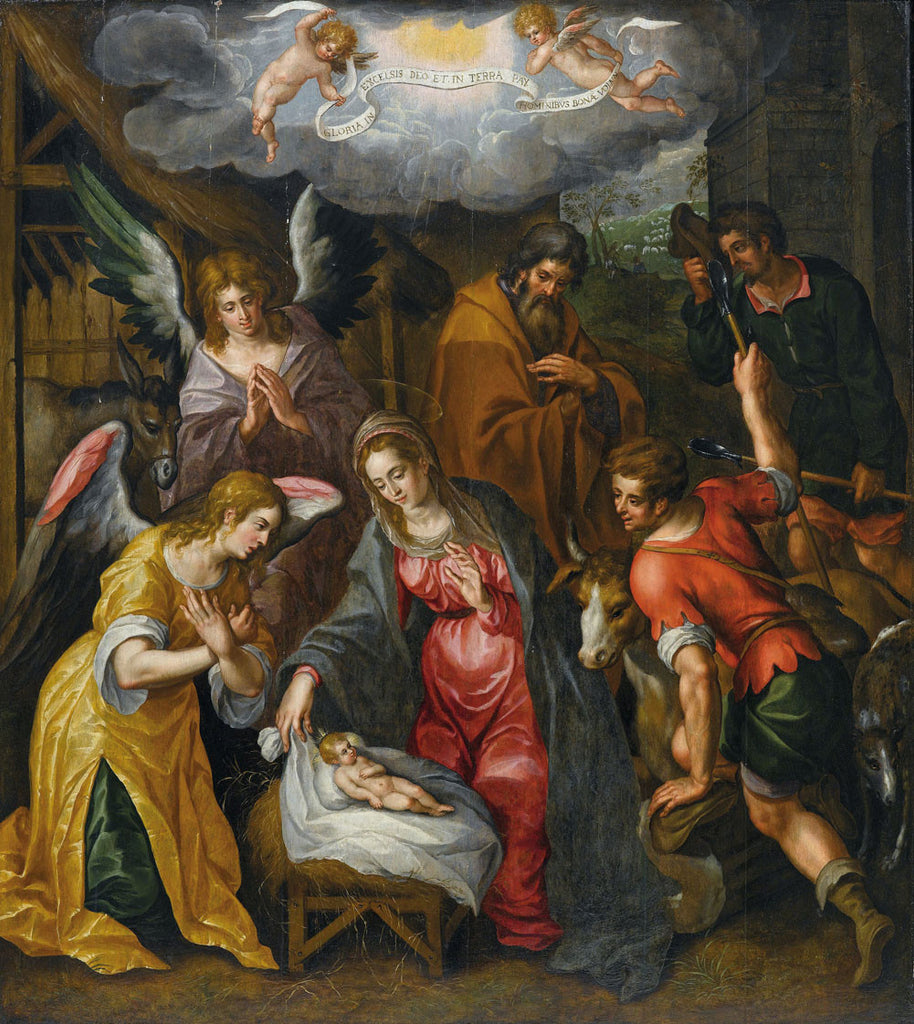 Hendrik de Clerck - The Birth of Christ