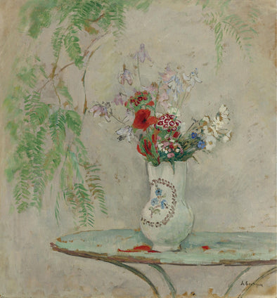 Henri Lebasque - Jug with Flowers