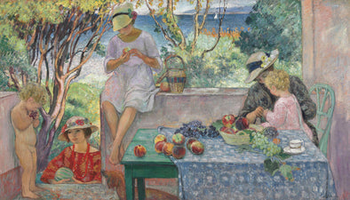 Henri Lebasque - Trying Fruits on the Terrace