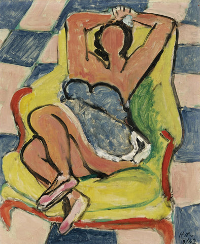 Henri Matisse - Dancer in repose