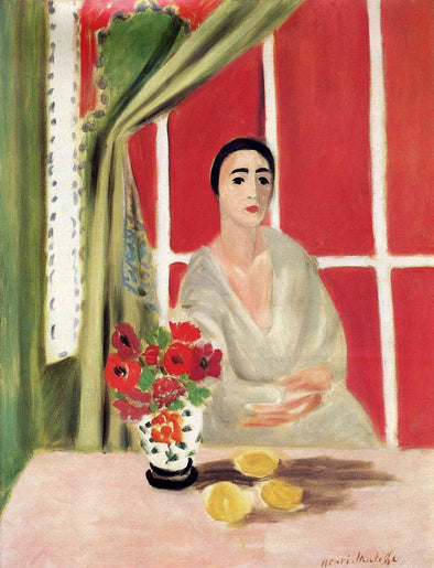 Henri Matisse - Figure at the Rideau Releve