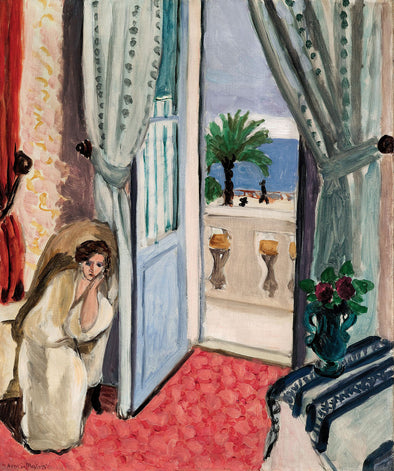 Henri Matisse - Interior at Nice Room at the Hotel Mediterranee