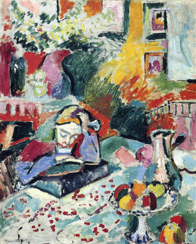 Henri Matisse - Interior with a Girl Reading