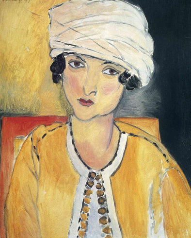 Henri Matisse - Lorette with Turban and Yellow Vest