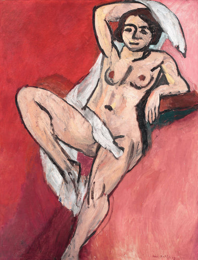 Henri Matisse - Nude with White Scarf