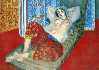 Henri Matisse - Odalisque in Red Culottes