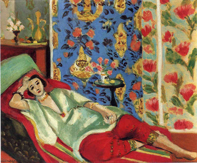Henri Matisse - Odalisque in Red Trousers