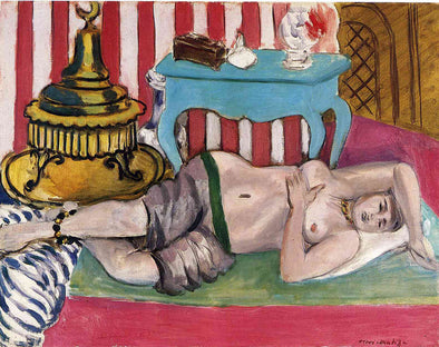 Henri Matisse - Odalisque with Green Scarf
