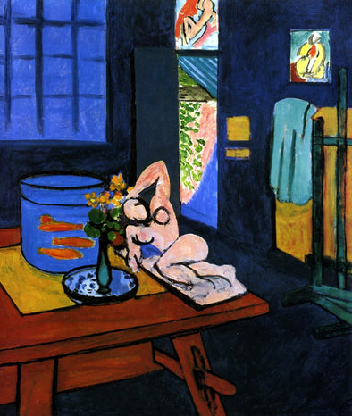 Henri Matisse - Red Fish in Interior